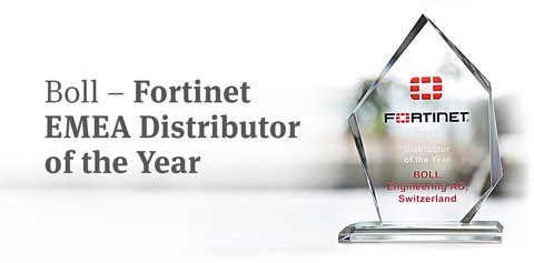 Fortinet EMEA Distriutor of the Year